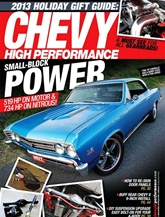 Tidningen Chevy High Performance