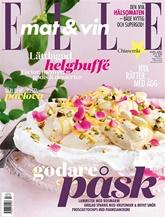 Tidningen Elle mat & vin