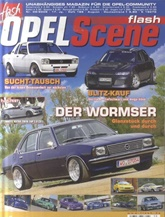 Tidningen Flash Opel Scene Int