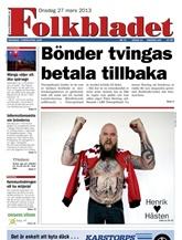 Tidningen Folkbladet
