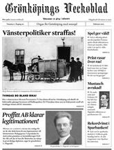Tidningen Gr�nk�pings Veckoblad