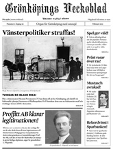 Grönköpings Veckoblad prenumeration
