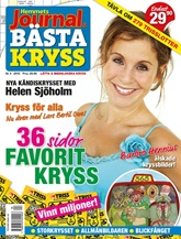 Tidningen Hemmets Journals B�sta Kryss