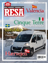 Tidningen Husbilen Resa