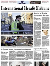 International Herald Tribune (Saturday Only)