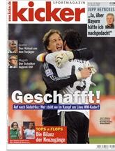 Kicker Sportmagazin Montag-ausgabe