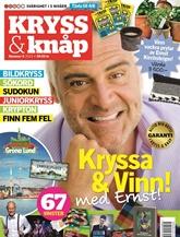 Tidningen Kryss & Knåp