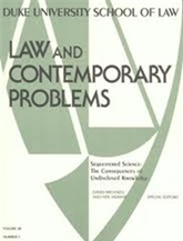 Law & Contemporary Problems prenumeration