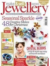 Tidningen Make & Sell Jewellery Magazine