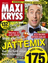 Tidningen Maxikryss