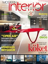 Tidningen Modern Interi�r