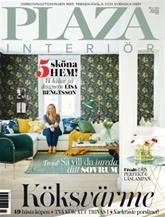 Tidningen Plaza Interi�r