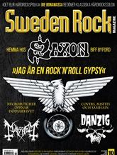 Tidningen Sweden Rock Magazine