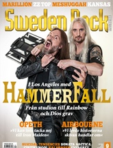 Tidningen Sweden Rock Magazine