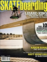 Transworld Skateboarding prenumeration