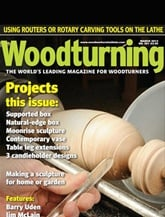 Woodturning prenumeration