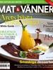 Bilde av Tidningen Mat & Vänner 3 nummer