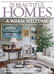 Tidningen 25 Beautiful Homes 12 nummer