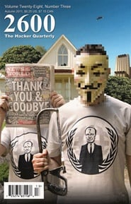Bild av Tidningen 2600, The Hacker Quarterly 4 nummer