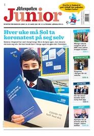 Tidningen Aftenposten Junior 12 nummer