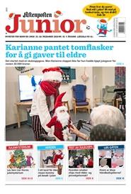 Tidningen Aftenposten Junior 50 nummer