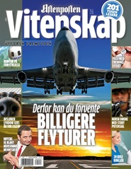 Tidningen Aftenposten Vitenskap 3 nummer