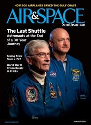 Tidningen Air & Space Smithsonian 7 nummer