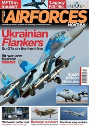 Tidningen Airforces Monthly 12 nummer