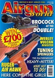 Tidningen Airgun World 12 nummer