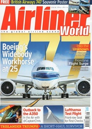 Tidningen Airliner World 12 nummer