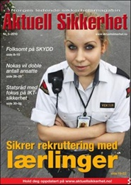 Tidningen Aktuell Sikkerhet 6 nummer