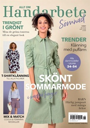 Tidningen Allt om handarbete Sömnadsmagasin 6 nummer