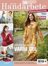 Tidningen Allt om handarbete Sömnadsmagasin 3 nummer