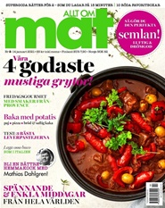 Tidningen Allt om Mat 18 nummer