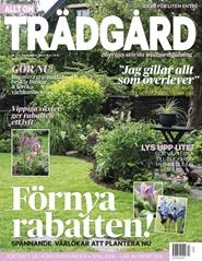 Tidningen Allt om Trädgård 8 nummer