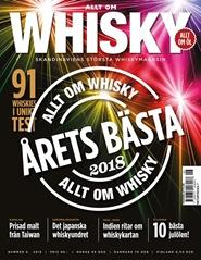 Tidningen Allt om Whisky 3 nummer