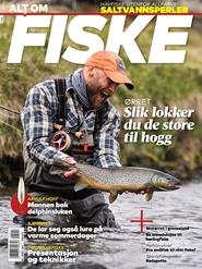 Tidningen Alt om Fiske 10 nummer