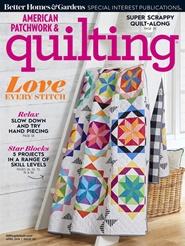 Tidningen American Patchwork & Quilting 6 nummer