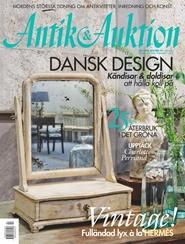 Tidningen Antik & Auktion 6 nummer