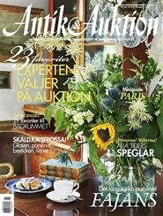 Tidningen Antik & Auktion 12 nummer
