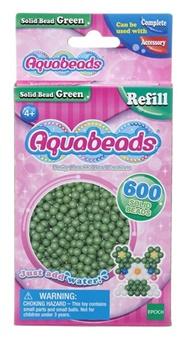Tidningen Aquabeads Gröna matta pärlor 1 nummer