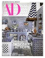 Tidningen Architectural Digest 12 nummer