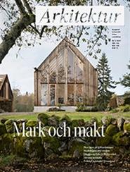 Tidningen Arkitektur 8 nummer