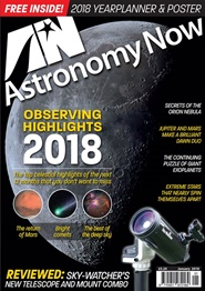 Tidningen Astronomy Now 12 nummer