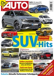 Tidningen Auto Strassenverkehr 25 nummer