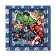Tidningen Avengers Pussel med ram, 60 bitar 1 nummer