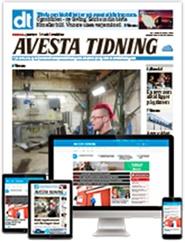Tidningen Avesta Tidning 36 nummer