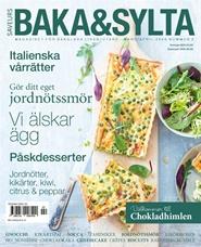 Tidningen Baka & Sylta 6 nummer