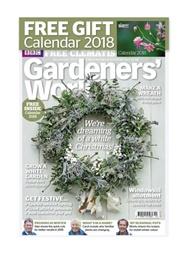 Tidningen BBC Gardeners' World 12 nummer