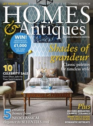 Tidningen BBC Homes & Antiques 12 nummer